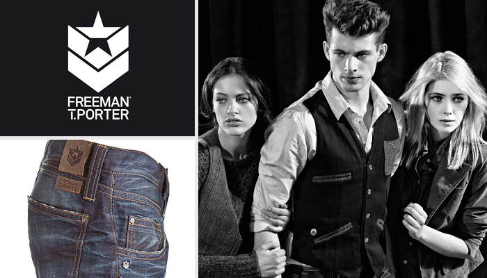 freeman t porter denim jeans fashion week runway catwalks fashion shows season collections. Black Bedroom Furniture Sets. Home Design Ideas