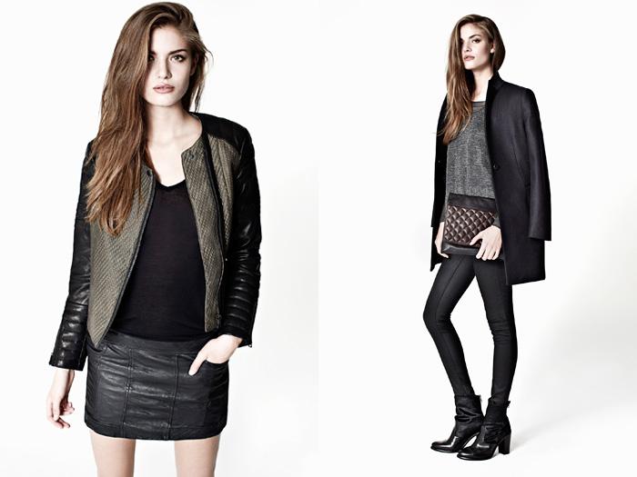 AllSaints Spitalfields 2012-2013 Winter November Womens Lookbook: Designer Denim Jeans Fashion: Season