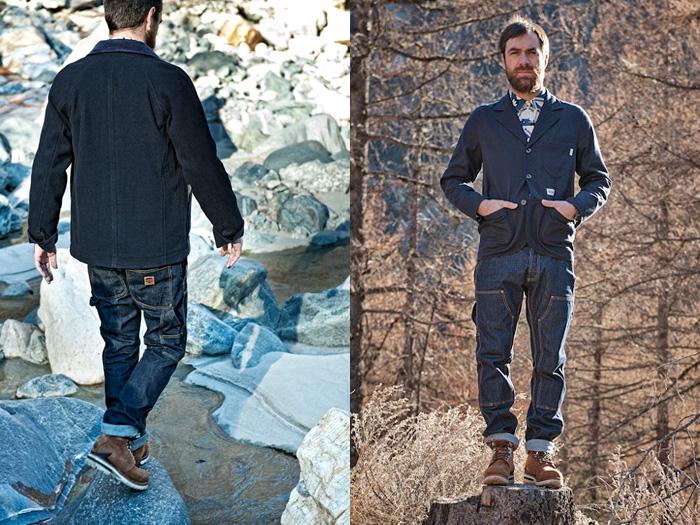 Mens Designer Tapered Jeans