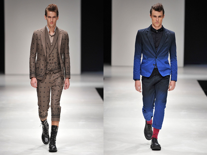 , Butcher Slim Skin 2012-2013 Fall Winter Pianoise Runway Collection