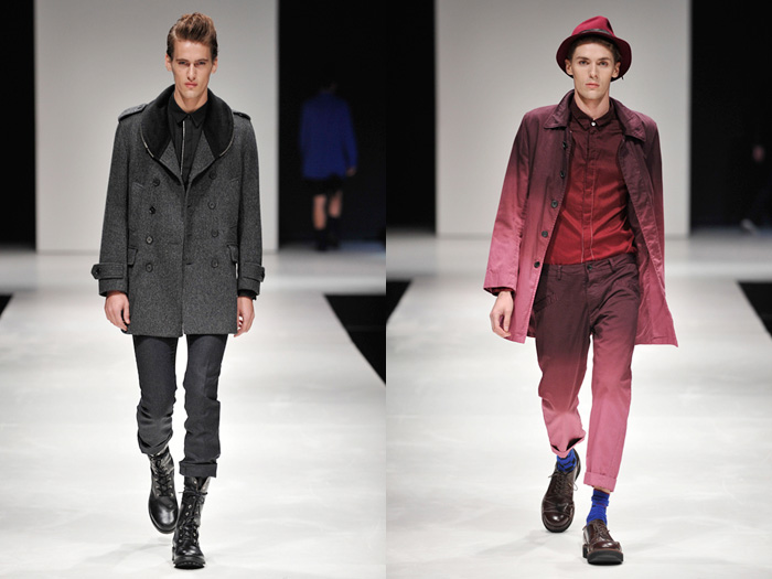 Butcher Slim Skin 2012-2013 Fall Winter Pianoise Runway Collection