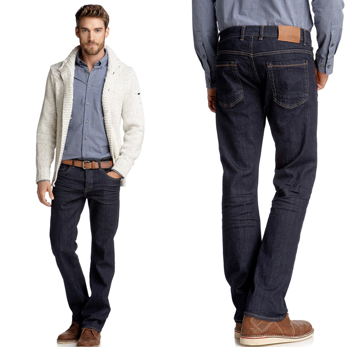 Esprit Dark Indigo Jeans 2012-2013 Fall Winter Mens Collection