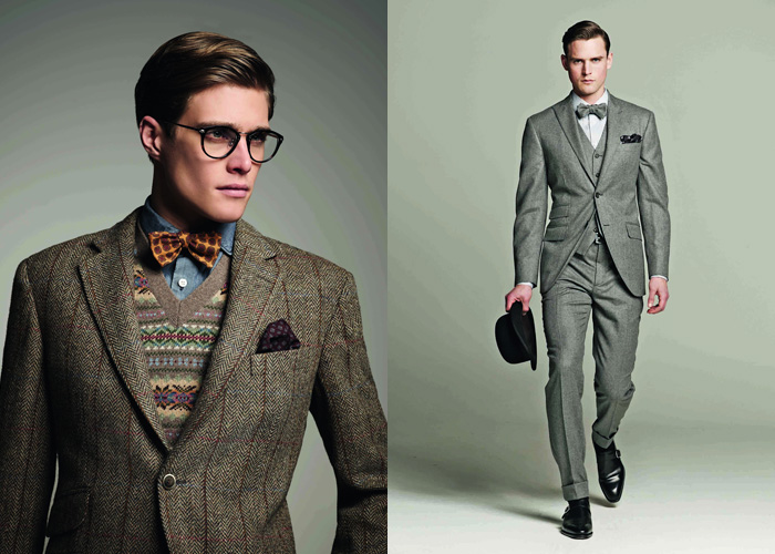Hackett London 2012 2013 Fall Winter Lookbook Denim