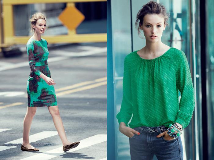J Crew Emerald City 2012 November Fall Style Guide Denim