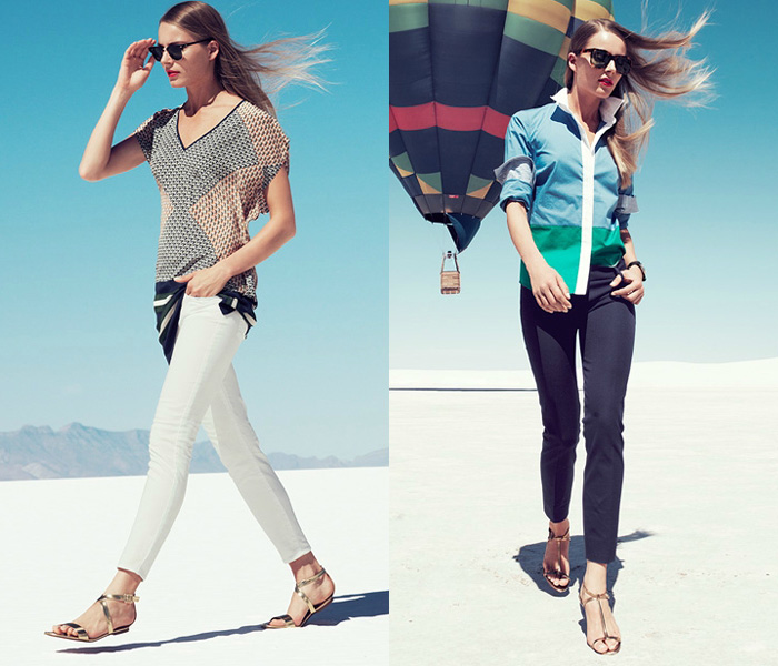 J Crew 2013 January Womens Style Guide Denim Jeans