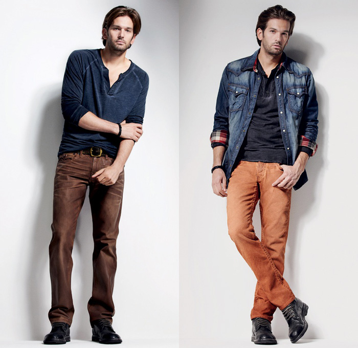 True Religion Brand Jeans 2012 2013 Holiday Mens Lookbook