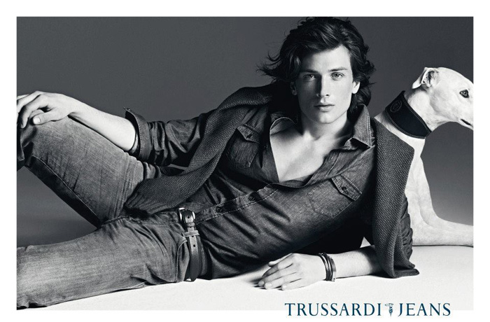 Trussardi Jeans 2012-2013 Fall Winter Ad Campaign: Designer Denim Jeans Fashion: Season Collections, Runways, Lookbooks, Linesheets & Ad Campaigns