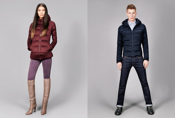 uniqlo 20122013 winter stylebook denim jeans fashion