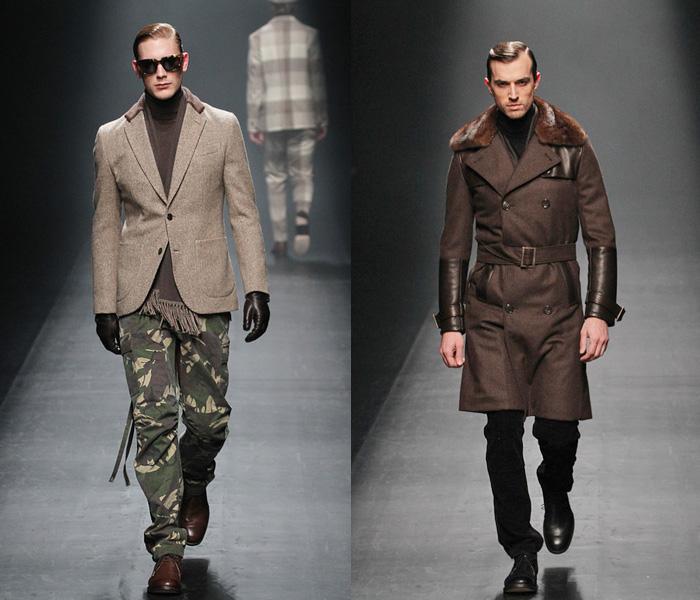 1 piu 1 uguale 3 2013 2014 fall winter mens runway for Mercedes benz clothing men