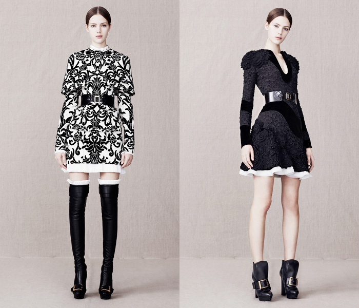 Alexander McQueen 2013-2014 Pre Fall Winter Womens Runway Collection: Designer Denim Jeans Fashion: Season Collections, Runways, Lookbooks and Linesheets