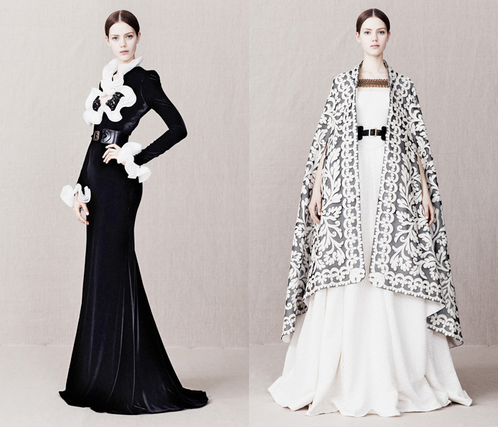 Alexander McQueen 2013-2014 Pre Fall Winter Womens Runway Collection