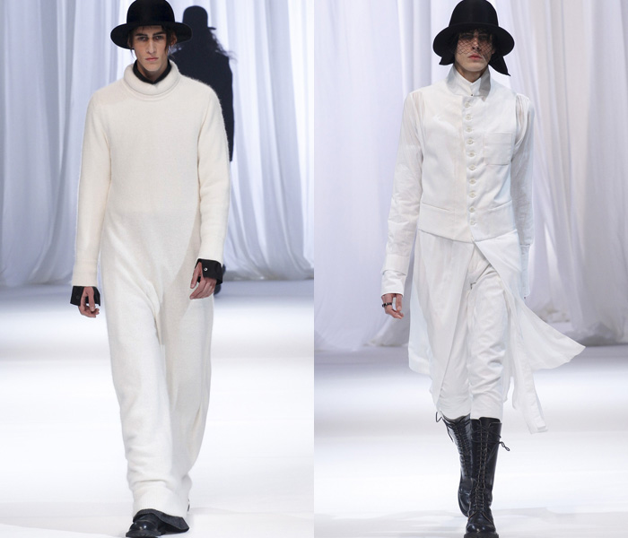 Ann Demeulemeester 2013-2014 Fall Winter Mens Runway Collection