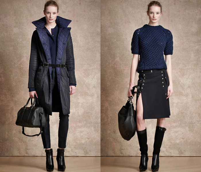 Belstaff England 2013-2014 Pre Fall Winter Womens Runway Collection: Designer Denim Jeans Fashion: Season Collections, Runways, Lookbooks and Linesheets