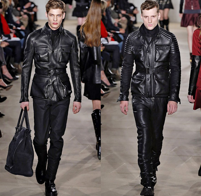 Belstaff 2013 2014 Fall Winter Runway Denim Jeans