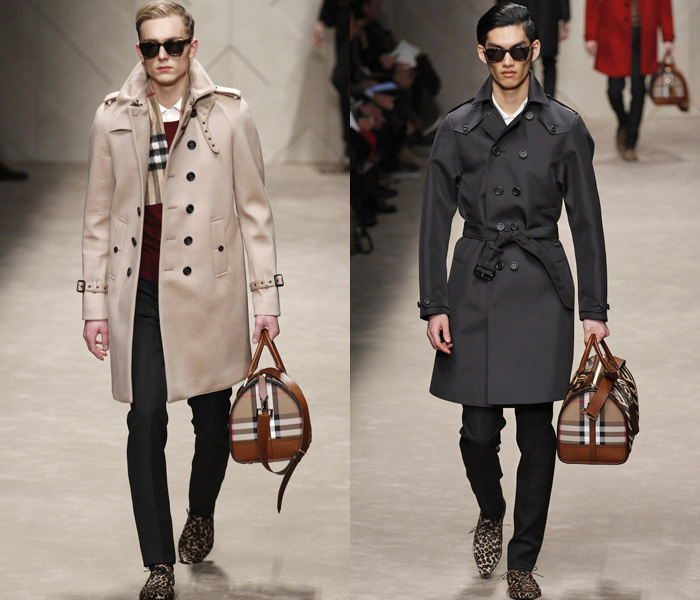 Burberry Prorsum 2013-2014 Fall Winter Mens Runway Collection