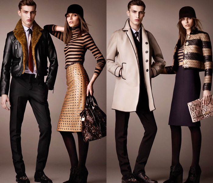 Burberry Prorsum 2013-2014 Pre Fall Winter Collection: Designer Denim