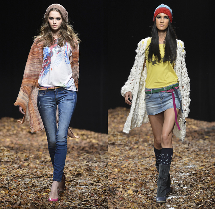 Colors of Benetton 2013-2014 Fall Winter Womens Runway Collection
