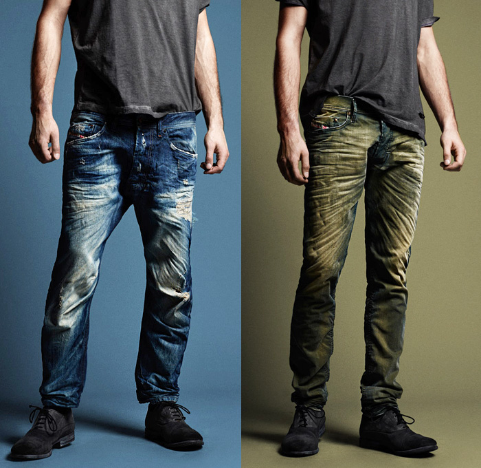 Wash style diesel 2013 2014 fall winter preview mens collection