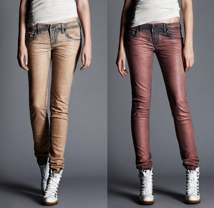 Diesel 2013 2014 Fall Winter Preview Womens Denim Jeans
