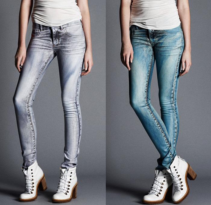 Diesel 2013 2014 Fall Winter Preview Womens Denim Jeans
