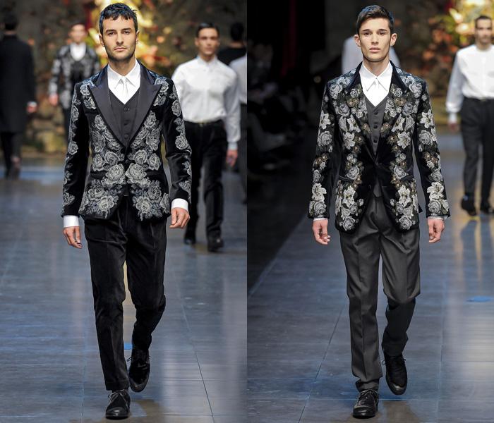 c085fa07b1b2 Dolce   Gabbana 2013-2014 Fall Winter Mens Runway Collection  Designer  Denim Jeans Fashion