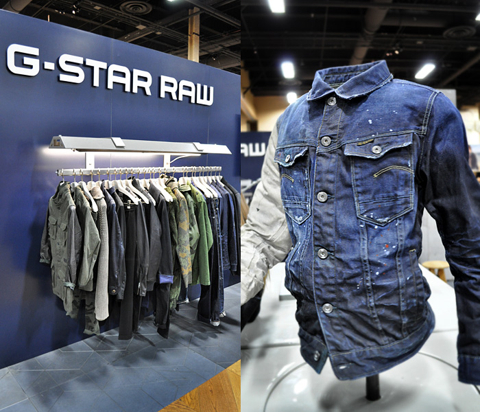 G-Star RAW The Art of Raw from Project Las Vegas: Designer Denim Jeans Fashion: Season Collections, Runways, Lookbooks and Linesheets