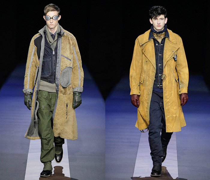 Star RAW 2013-2014 Fall Winter Mens Runway Collection - Bread and