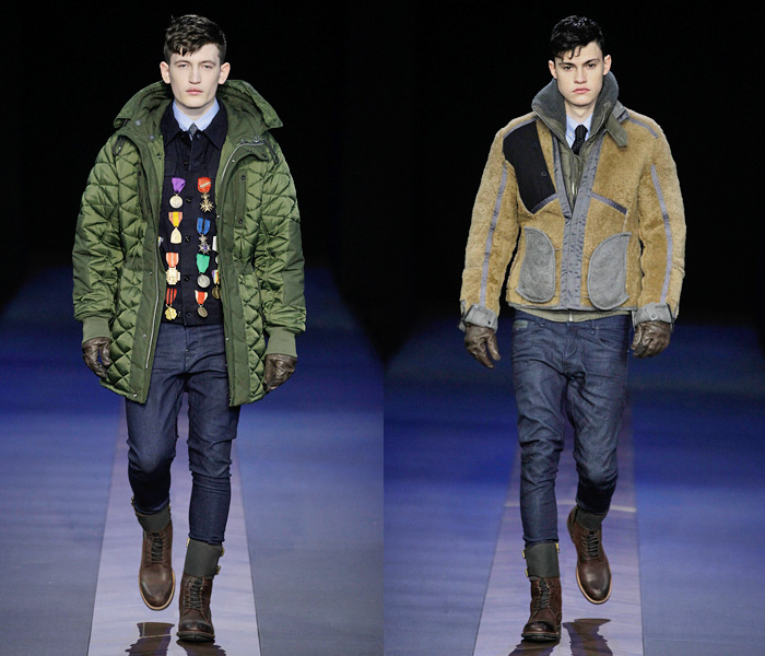G Star Raw 2013 2014 Fall Winter Mens Runway Collection