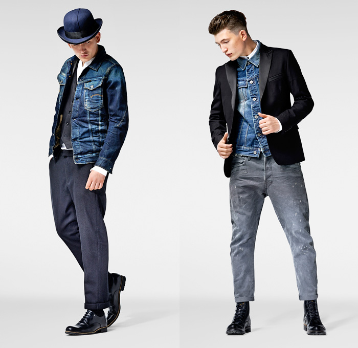 G-Star RAW 2013-2014 Winter Mens Lookbook