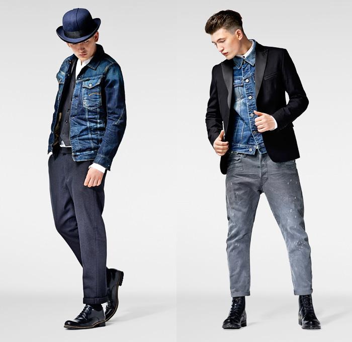G Star Raw 2013 2014 Winter Mens Lookbook Denim Jeans