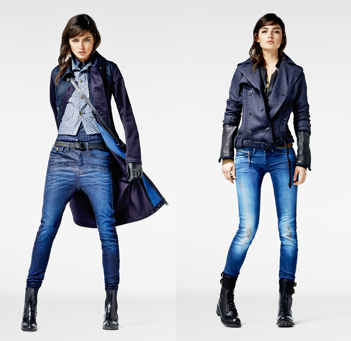 G-Star RAW 2013-2014 Winter Womens Looks