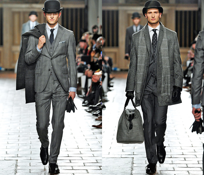 Hackett London 2013-2014 Fall Winter Mens Runway Collection: Designer