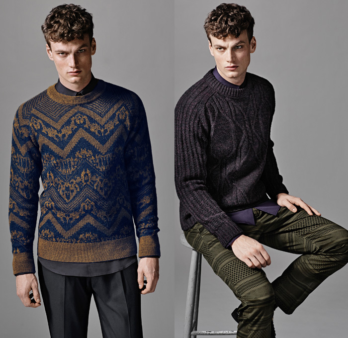 H Amp M 2013 Fall Mens Lookbook Collection Denim Jeans