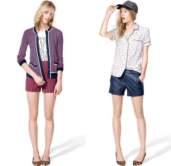 J.Crew 2013 August Pre Fall Looks We Love - End of Summer - Pre Autumn Fashion: Designer Denim Jeans Fashion: Season Collections, Runways, Lookbooks and Linesheets