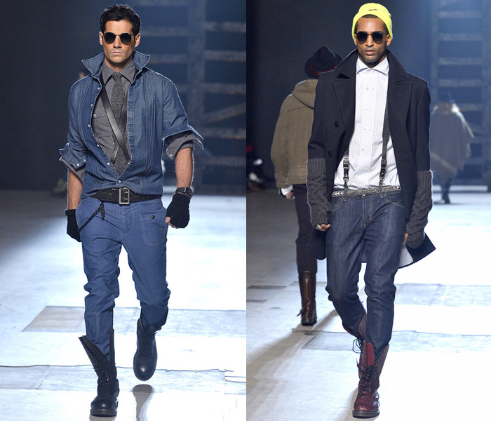 Michael Bastian 2013-2014 Fall Winter Mens Runway Collection: Designer
