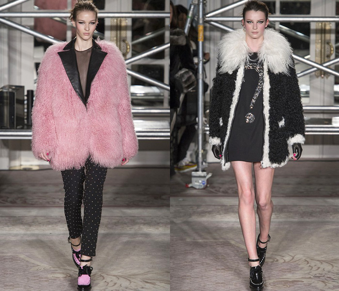 Moschino Cheap and Chic 2013-2014 Fall Winter Womens Runway Collection: Designer Denim Jeans Fashion: Season Collections, Runways, Lookbooks and Linesheets