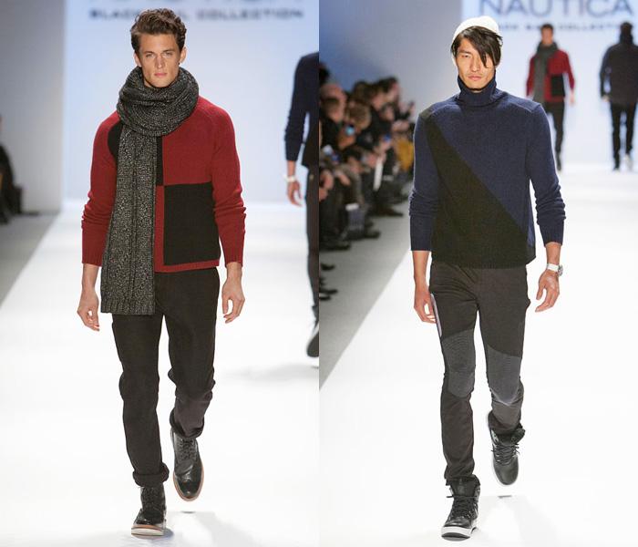 Nautica 2013-2014 Fall Winter Mens Runway Collection: Designer Denim