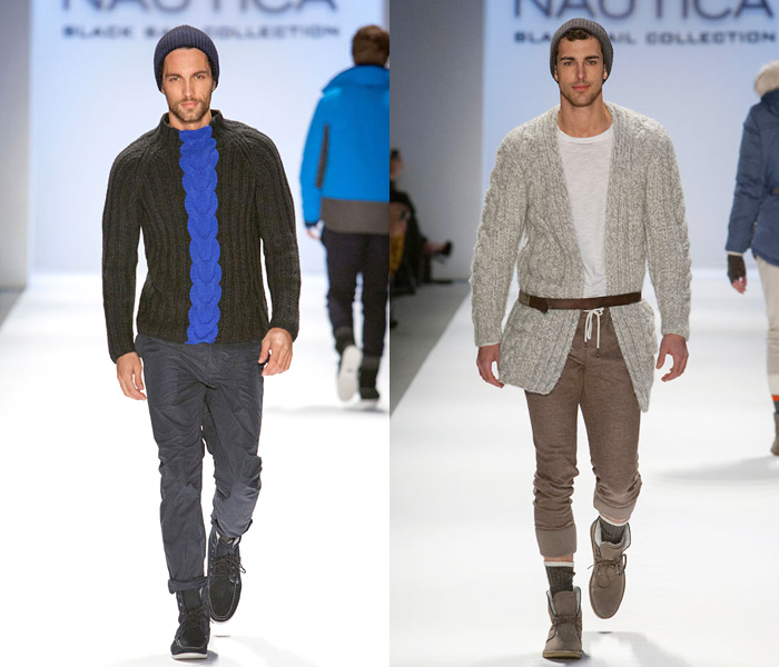Nautica 2013-2014 Fall Winter Mens Runway Collection: Designer Denim Jeans Fashion: Season Collections, Runways, Lookbooks and Linesheets