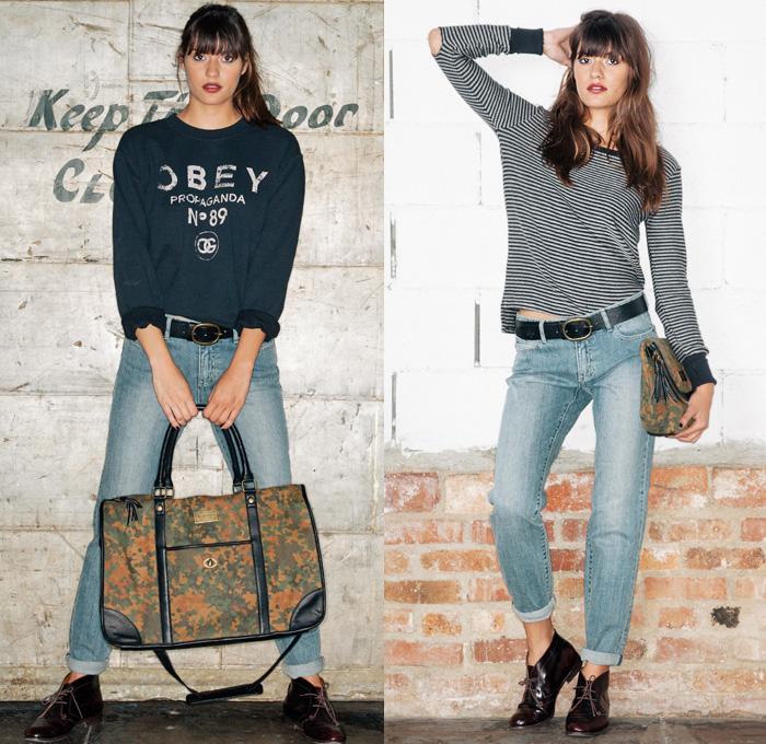 Obey Clothing 2013 Fall Womens Lookbook Denim Jeans