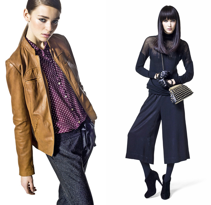 0d04cc3af5 Sisley 2013-2014 Fall Winter Womens Lookbook  Designer Denim Jeans Fashion   Season Collections