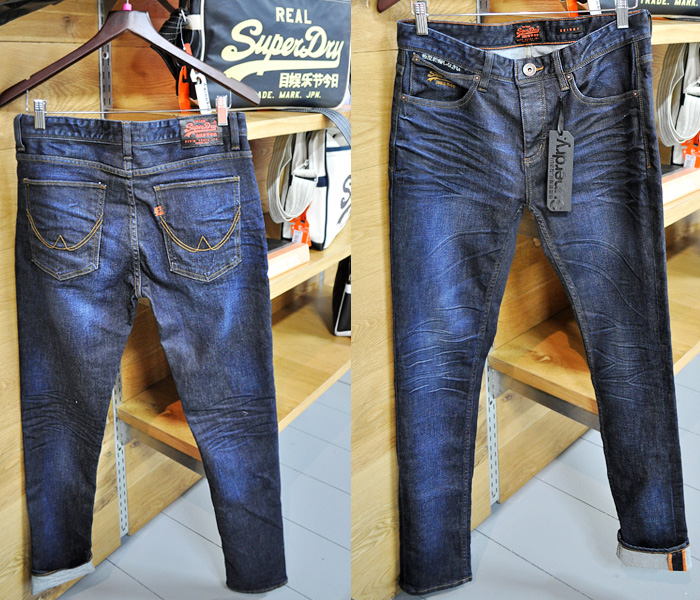 Faded Mens Jeans