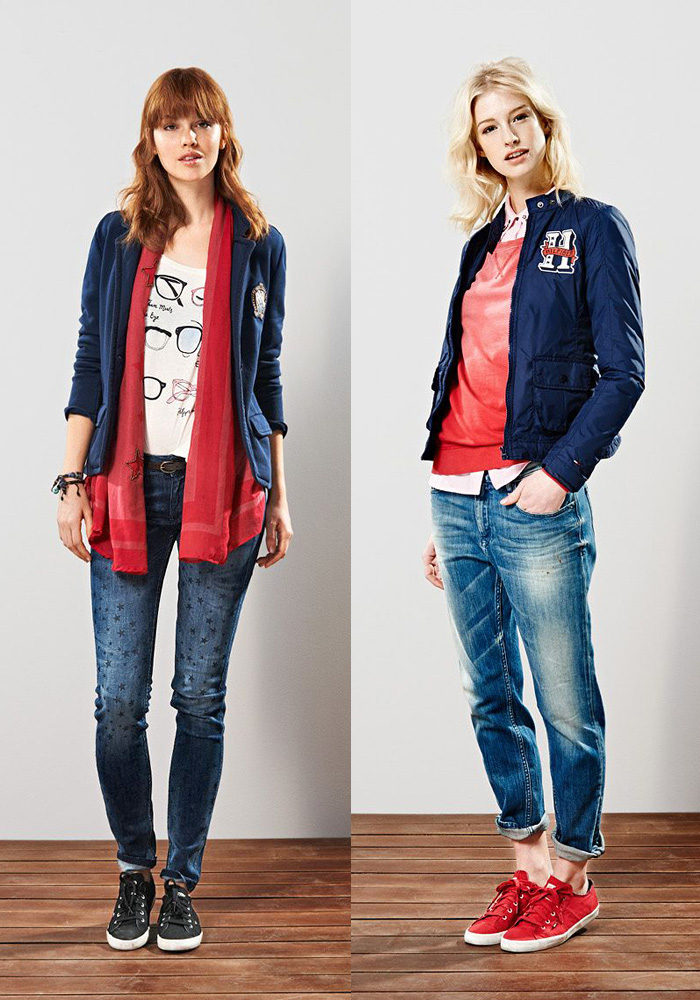 Hilfiger Denim 2013-2014 Fall Winter Lookbook