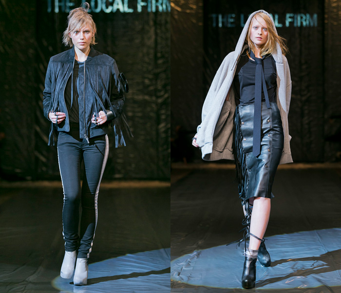 The Local Firm 2013-2014 Fall Winter Runway Collection: Designer Denim