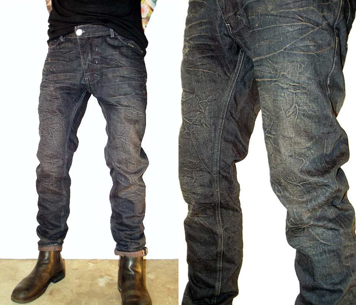 Versuchskind Berlin 2013-2014 Fall Winter Mens Collection   Denim Jeans Fashion Week Runway ...