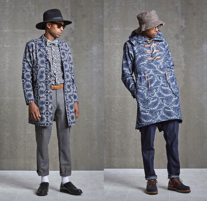Wisdom Apparel Taiwan 2013 2014 Fall Winter Mens Lookbook Denim Jeans Fashion Week Runway