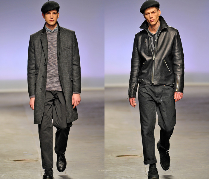YMC 2013-2014 Fall Winter Mens Runway Collection: Designer Denim Jeans