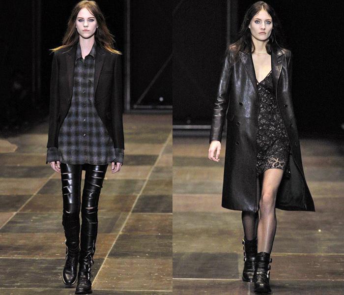 Saint Laurent 2013-2014 Fall Winter Womens Runway Collection - YSL - Yves Saint  Laurent. Designer Denim Jeans Fashion  bd82982fd82ff