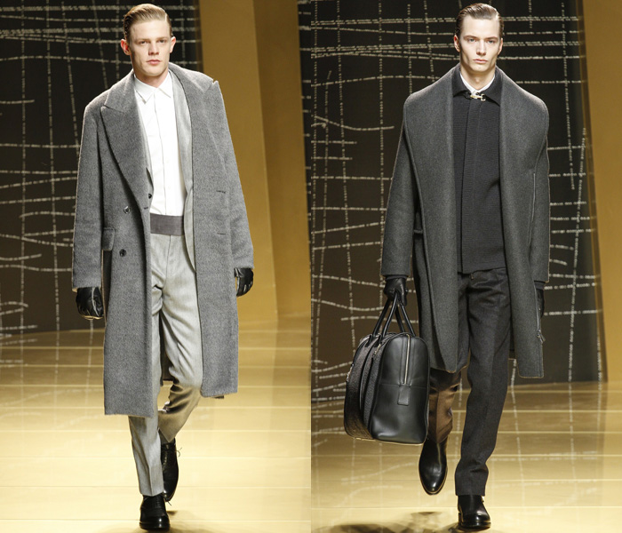 a8617a05 Ermenegildo Zegna 2013-2014 Fall Winter Mens Runway Collection ...