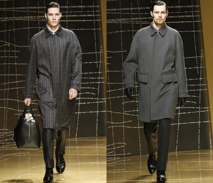 Ermenegildo Zegna 2013-2014 Fall Winter Mens Runway ...