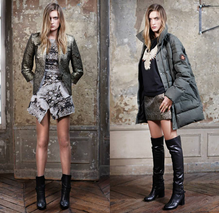 Zadig Et Voltaire 2013 2014 Fall Winter Womens Lookbook